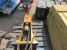DEMO LMBS 500 EXCAVATOR BREAKER ON 45MM PINS. DIRECT EX LOCAL COMPANY. DESCRIBED AS WORKING BUT WOUL
