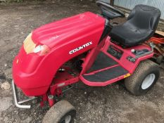 COUNTAX ROLLING CHASSI RIDE ON MOWER. NO ENGINE ETC.