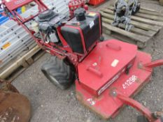 FERRIS ROUGH CUT MOWER YEAR 2005. when tested was seen to run, drive and mowers turned.
