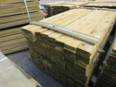 1 X PACK OF 1.8M X 10CM WIDE APPROX FEATHER EDGE TIMBER CLADDING