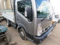 NISSAN CABSTAR 3.5-13 DROP SIDE PICKUP REG:GN66 BRF. ONE OWNER. 2 KEYS. 45,333 MILES WITH HISTORY