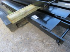 PAIR OF 1.82 M LONG FORKLIFT EXTENSION TINES (UNUSED).