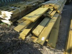 LARGE QUANTITY OF FENCING TIMBERS AND POSTS.