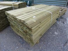 LARGE PACK OF 1.72M X 10CM SHIPLAP TIMBER (APPROX)
