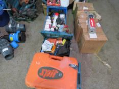 4 X BOXES OF DRILL PARTS ETC.