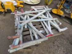 10 X YOUNGMAN TYPE OUTRIGGER SCAFFOLD BRACKETS.