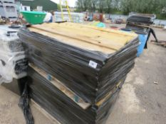 2 X PALLETS OF FEATHER EDGE TIMBER, BELIEVED TO BE APPROX 1.3M LENGTH.