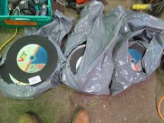 3 X BAGS OF METAL CUTTING DISCS. 305MM X 3.2MM X 22MM.