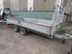 IFOR WILLIAMS 146G B BEAVERTAILED PLANT TRAILER, YEAR 2008. SN:SCK60000080540619. SOLD UNDER THE AUC