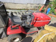LAWNFLITE 550 RIDE ON MOWER WITH 2 X COLLECTOR BAGS. WHEN TESTED WAS SEEN TO RUN, DRIVE BUT MOWERS N