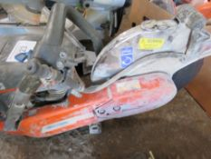 HUSQVARNA 760 PETROL SAW. WHEN TESTED WAS SEEN TO RUN AND BLADE TURNED.