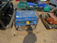 DRAPER PETROL GENERATOR FOR SPARES OR REPAIR.