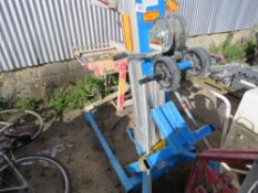 GENIE SLA10 MATERIAL LIFT WITH FORKS.