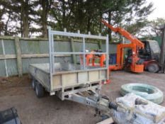 IFOR WILLIAMS 12FT X 5FT DROP SIDE TRAILER YEAR 2012 APPROX. SN:SCK600000C5087720. DIRECT FROM LOCAL