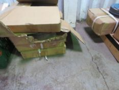 4 X BOXES OF 355 X 4 X 25.4MM FLAT STONE CUTTING DISCS, 60 NO. APPROX IN TOTAL.