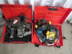 2 X BOXES OF POWER TOOLS.
