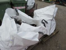 2 X BULK BAGS CONTAINING HILTI DIAMOND DRILLING EQUIPMENT AND BREAKERS FOR SPARES OR REPAIR.