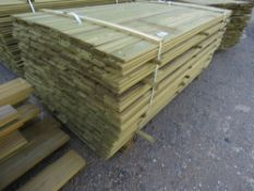 LARGE PACK OF 1.72M X 9.5CM SHIPLAP TIMBER.