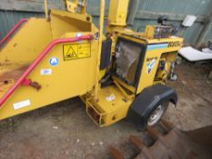 VERMEER BC625AI DIESEL ENGINED TOWED SHREDDER, 1838 RECORDED HOURS. WHEN TESTED WAS SEEN TO RUN AND