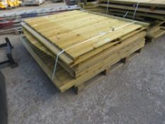 9 X ASSORTED FENCING PANELS.