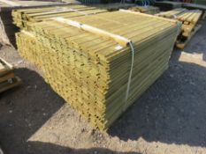 LARGE PACK OF 1.73 X 9.5 CM SHIPLAP FENCING TIMBER (APPROX)