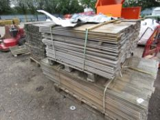 3 X PALLETS OF SHIPLAP TIMBER. 1.12 - 1.73M APPROX.