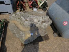 LARGE GARDEN ROCK 1.2M X 1.3M APPROX.
