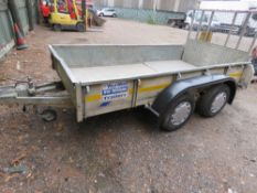 IFOR WILLIAMS GD105G DROP RAMP TRAILER SN:SCK400000Y0292831.