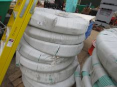 8 X ROLLS OF 2 INCH PVC SUCTION HOSE. 30 METRES LONG APPROX EACH.