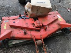 KUBOTA RC60-35STR MID MOUNTED 5FT CUTTING DECK WITH FITTINGS AS SHOWN.