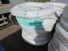 8 X ROLLS OF PVC 2 INCH SUCTION HOSE, BELIEVED TO EACH BE 30M LONG.