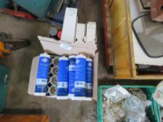 APPROX 25 X TUBES OF RENOLIT MP PLUS GREASE PLUS PAINTS AND WARNING TAPES.