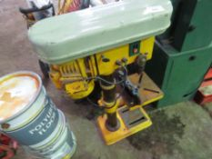 240VOLT PILLAR DRILL, WORKING WHEN REMOVED. SOURCED FROM WORKSHOP CLOSURE.