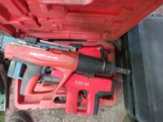 4 X CARTRIDGE NAIL GUNS.