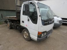 ISUZU GRAFTER 3500KG TIPPER. REG:HF54 GXN. WHEN TESTED WAS SEEN TO DRIVE STEER, BRAKE AND TIP. NO VA