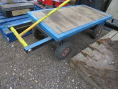 4 WHEEL TROLLEY.. SOURCED FROM DEPOT CLOSURE.