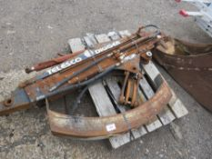 TELESCO TELESCOPIC DIGGER BOOM ARM WITH ADDITIONAL COUNTER WEIGHT FOR MINI DIGGER, POSSIBLY FOR 3 TO