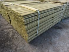 LARGE PACK OF 1.72M APPROX SHIPLAP CLADDING TIMBER X 9.5CM WIDTH.
