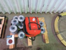 PALLET OF 125 X 3 X 22.23MM METAL CUTTING DISCS.