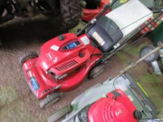 TORO RECYCLER MOWER. WHEN TESTED WAS SEEN TO RUN AND DRIVE.