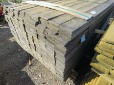 1 X PACK OF FENCE CLADDING 1.74M APPROX.