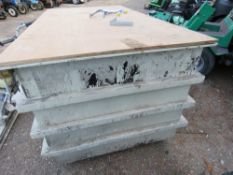 GRP BOX OF ELECTRICAL LIGHTING ETC.