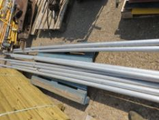 4 X JUMBO SCAFFOLD TOWER LEGS, CIRCA 16FT LENGTH. DIRECT FROM LOCAL COMPANY DUE TO DEPOT CLOSURE.