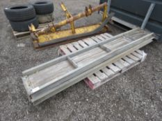 PAIR OF 8FT APPROX LENGTH LOADING RAMPS.