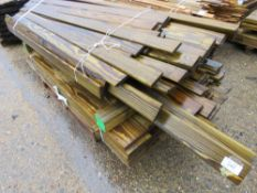 2 X BUNDLES OF USEFUL TIMBER 6-8FT APPROX.