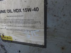 200 LITRE DRUM OF HDX15-40 ENGINE OIL.