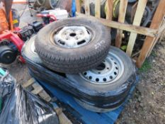 5 X 215/75R16 WHEELS AND TYRES.