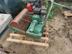 RANSOMES 24 CYLINDER MOWER WITH BOX.