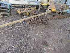 SET OF 4 X SEED HARROWS AND WHIPPLE TREE. DIRECT FROM DEPOT CLOSURE.