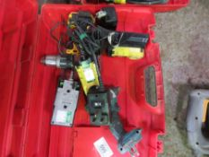 3 X RECHARGEABLE TORCHES AND DEWALT BATTERY DRILL AND MAKITA DRIVER. DIRECT FROM LOCAL COMPANY AS PA